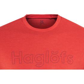 Haglöfs Ridge T-shirt Homme, pop red